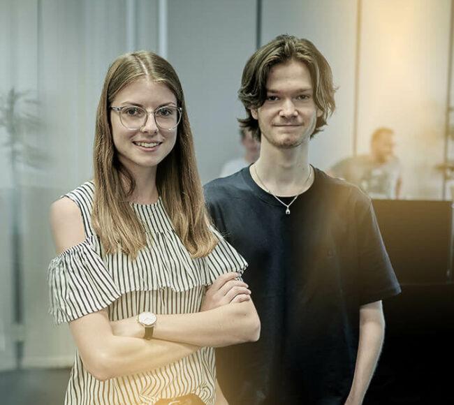 Ina Janker & Matthias Holzapfel - Azubis